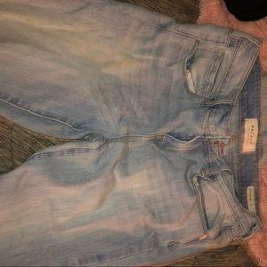 pacsun light wash skinny jeans